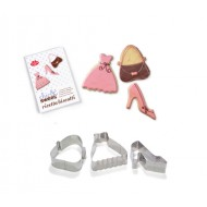 BALL.CHIC & SWEET SET 3 STAMPI BISCO